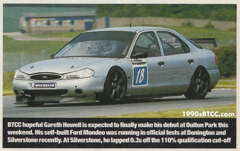 Gareth Howell BTCC 1999